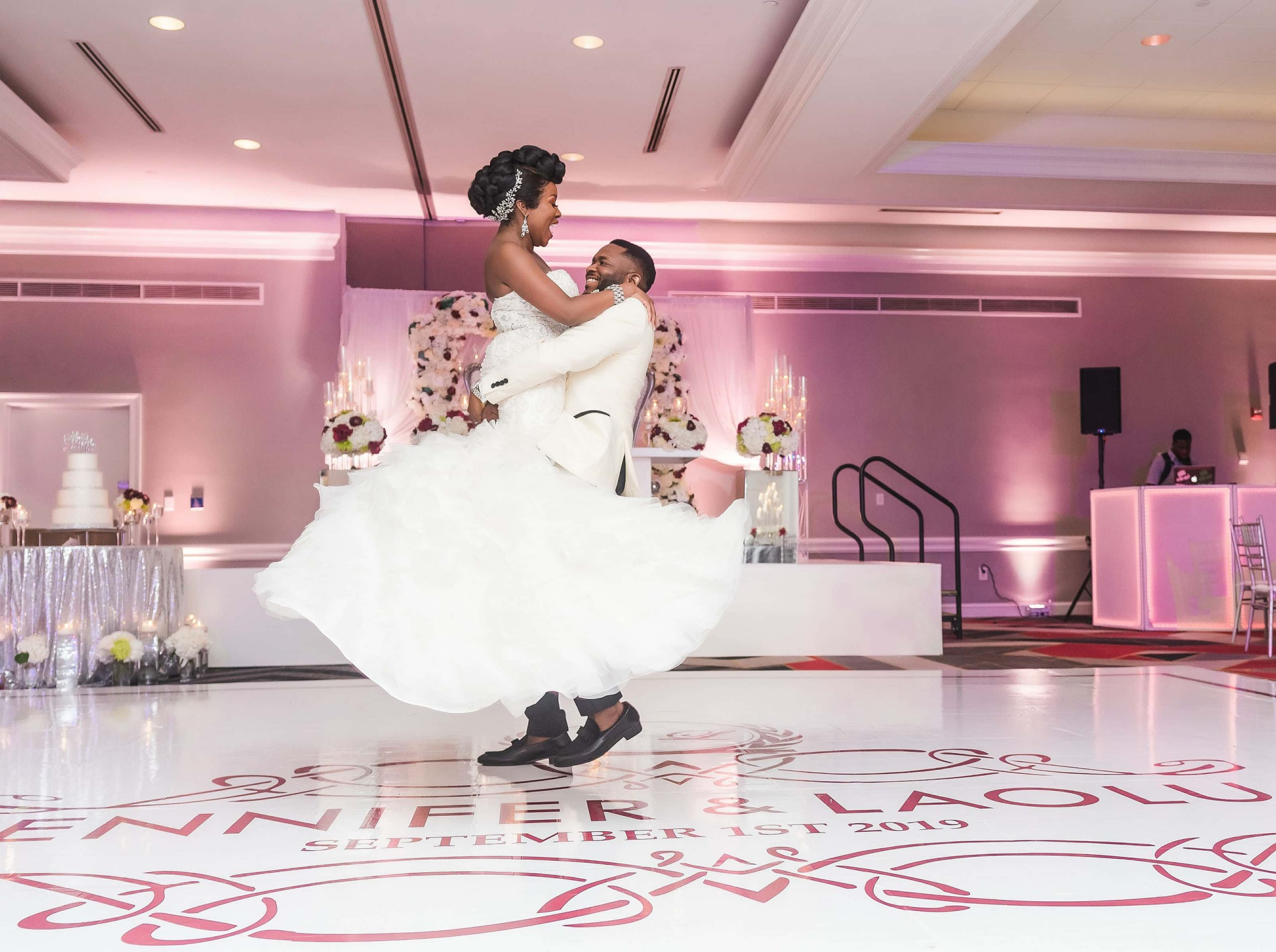 Dance-Floor-Decal-Wrap-Custom-Wedding-White-Stage-Cover-Design-Portable-Dance-Floor-Rental-Portable-Stage-Rental-Event-Stage-Lighting-Selfie-Mirror-Photo-Booth